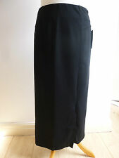 BNWT Pure Collection ponte knit lined smart long lean fitted midi skirt 10 16