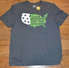 Life is Good T-Shirt STAY TRUE USA AMERICA Authentic Tee Men's Shirt MSRP $30.00