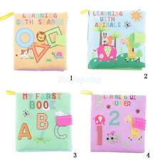 Soft Cloth Book COLORFUL Cognize Book Infant Baby Kid Development Toys Gifts