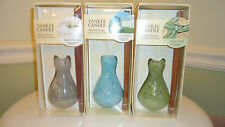 Yankee Candle Reed Diffuser set with Handblown Glass & oil  ~ you choose scent