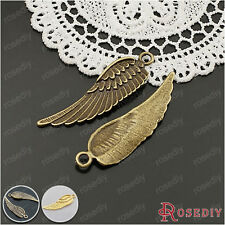 10PCS 45*14MM Zinc Alloy Big Wing Pendants Jewelry Accessories 25034