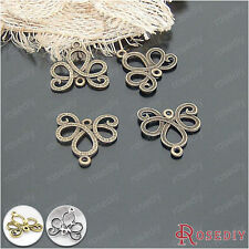 30PCS 21*21MM Alloy Earrings Connector Charms Jewelry Findings Accessories 20965