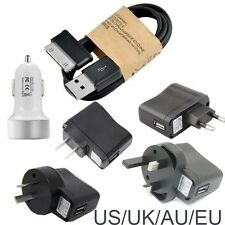 new usb+TRAVEL CHARGER data cable for Samsung Galaxy Tab Tablet P1000