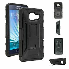 Black Case and Holster Combo with Belt Clip for Samsung Galaxy A3