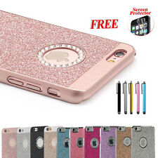 "FR iPhone 6 4.7""/6s Plus Luxury Crystal Rhinestone Diamond Bling Hard Case Cover"
