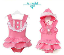 Toddler baby girls kids Bathing swimsuit Swimwear princess Bath Suit Beachwear