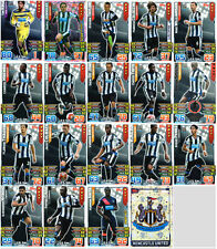 2015/16 MATCH ATTAX 19 NEWCASTLE UTD CARDS ALL LISTED 15/16 FULL TEAM BASE SET