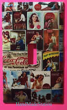 Coke Coca Cola Old Poster Sign Light Switch Power Outlet Cover Plate Home decor