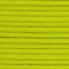550 Paracord Neon Yellow Type III Paracord 10' 20' 50' 100' Hanks & 100' Spools