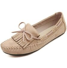 Womens Low Heels Shoes Casual Slip-on Ballet Fashion Flats Loafers & Moccasins