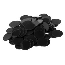 50pcs/100pcs 40mm/32mm Plastic Texas Poker Chips Casino Games Acs Adult Kids Toy