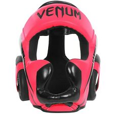 VENUM ELITE HEADGEAR-NEO PINK UFC MMA BOXING