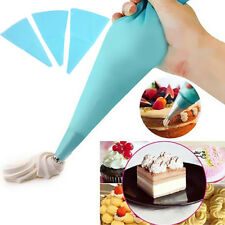 3 Sizes Cake Decorating Icing Pastry Bag New Reusable Piping Cream Silicone DIY