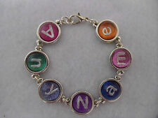 Personalised name bracelet, any name, colour, size, party bag favours, gift