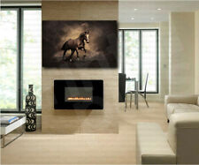 Brown Horse Art Canvas Poster Print Home Wall Decor