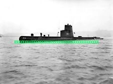 USN Submarine USS Grouper SS-214 Military Black n White Photo Sub AGSS SSK-214