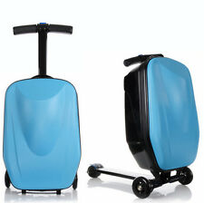 SUITCASE SCOOTER CABIN APPROVED TRAVEL TROLLEY CARRY ON LUGGAGE WHEELED FLIGHT
