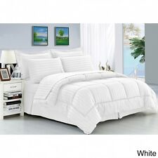 Full/Queen Comforter Set Wrinkle-Resistant Soft 8-Piece Bed in a Bag New Bedding