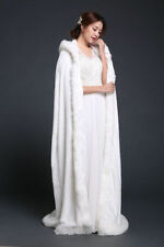 Fake fur warm winter Floor length cape bride cape formal occasions poncho Stole