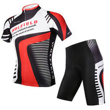 Mens Lightning Costume Cycling Short Jersey Pants Suit Fleece Bicycle Bike M-3XL