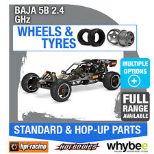 HPI BAJA 5B 2.4 GHz [Wheels & Tyres] Genuine HPi 1/5 R/C Scale!