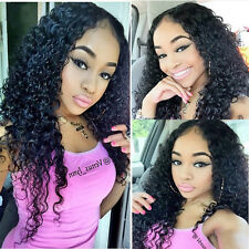Real Human Hair Lace Wig Curl  Full Lace Wigs /Front Lace Wigs 14-24''