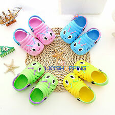 Cute Animals Girls Boy Baby Kids Slippers Clogs Beach Sandals Flip Flops Shoes