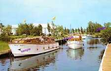 Norfolk Broads Vintage Loddon Wooden Hire Cruisers=1st CLASSSCENE=OWN COLLECTION
