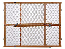 North State Ind 4604 Portable Gate, Diamond Mesh, 26.5-42 x 23-In.