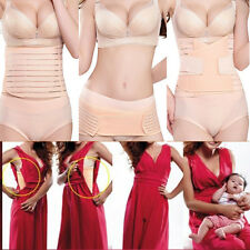 3 in 1 Breathable Postpartum Postnatal Recovery Belly Support Girdle Belt UK