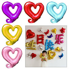 Heart Balloon Birthday Christmas Wedding Party Love Shape Decoration Helium Foil