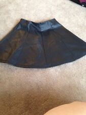 Girls Leather Look River Island Skirt Age 5/6