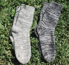 SOCKS Knitted natural sheep WOOL FLEECE