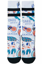 New STANCE Lei-lei Socks White Mens