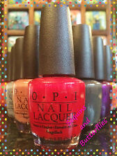 OPI ~ PROFESSIONAL NAIL LACQUERS ~ Choice of Colours ~ T to Z ~ Brand New