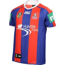 """NRL NEWCASTLE KNIGHTS  2014 ADULTS """"ISC"""" HOME JERSEY - BRAND NEW"""