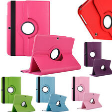 360 Degree Rotating Folio PU Leather Case Stand Cover For Samsung Galaxy Tab