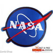 NASA Dress Space iron/sew On Embroidered Patch Astronaut Iron Badge Fancy