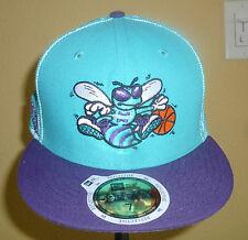 NEW ERA 59FIFTY NBA CHARLOTTE HORNETS custom fit hat - NEW
