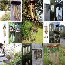 Various Wooden Metal Tube Wind Chimes Mobile Windchime Church Bell Hanging Decor