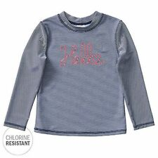 NEW Long Sleeve Chlorine Resistant Rash Vest Kids