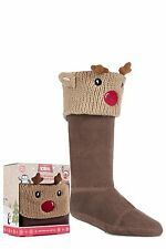 Boys and Girls 1 Pair Totes Christmas Novelty Welly Boot Socks