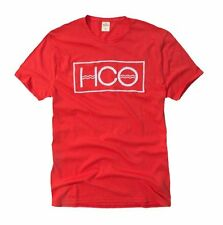 Nwt Hollister By Abercrombie Mens Graphic T Shirt Size S M L XL Red