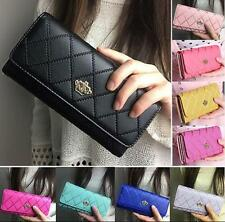 Clutch Wallet Leather Holder Women PU Card Handbag Hot Long Lady Purse