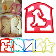 DIY Lunch Kids Sandwich Toast Cookies Cake Bread Biscuit Food Cutter Mold Mould
