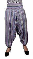 Cotton Tie dye Straight Genie Harem Pants Boho Gypsy Trousers