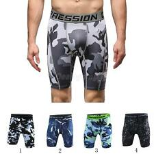 High Elastic Mens Compression Shorts Tights Fitness Sports Swim Baselayer Shorts