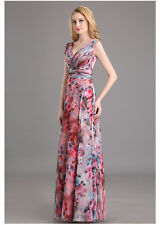 Long Formal Prom Applique Dress Cocktail Party Ball Gown Evening Dress US 2-16