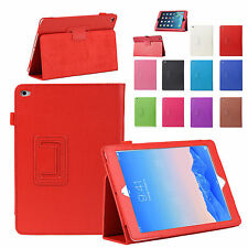 Folio PU Leather Stand Sleep Wake Case Cover For iPad mini Air Pro 1 2 3 4