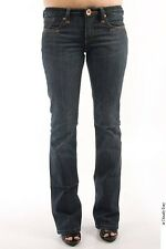 Parasuco 8-IT Extra Low Rise Extra Slim Fit Dark Blue Denim Jeans $156 CAD NWT